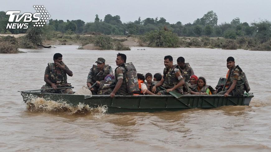 圖/達志影像美聯社 陸指印軍53人仍越界 反較日前多5人