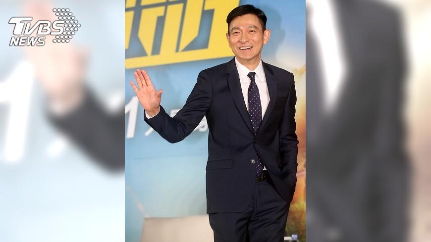 圖/中央社 墜馬後首訪台 劉德華:我真的回來了