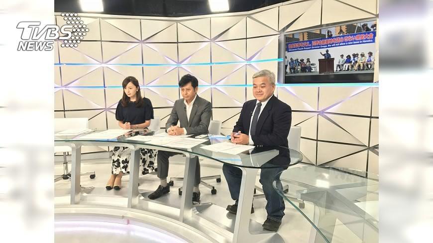 圖/TVBS TVBS國際特派 登日本電視主播台