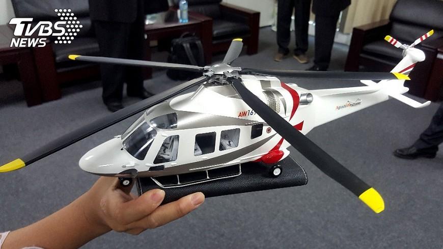 圖/中央社 澎湖緊急後送直升機 採最新阿古斯特機型