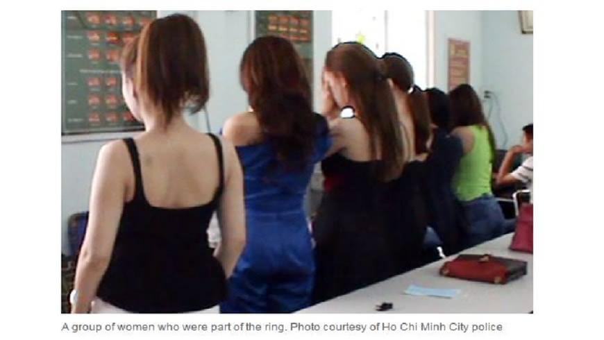 越南胡志明市查獲一起賣淫集團,當中有30位賣淫者具有藝人身分,引發當地關注。(圖/翻攝自VnExpress International) 越南女藝人集體賣淫 30人下海賺外快