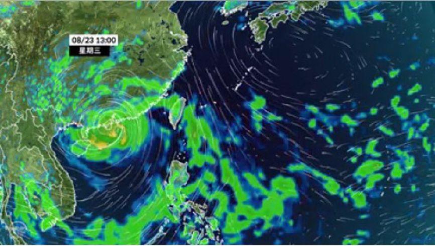 圖/氣象達人彭啟明臉書 未來一週水氣多 首波鋒面9月初接近