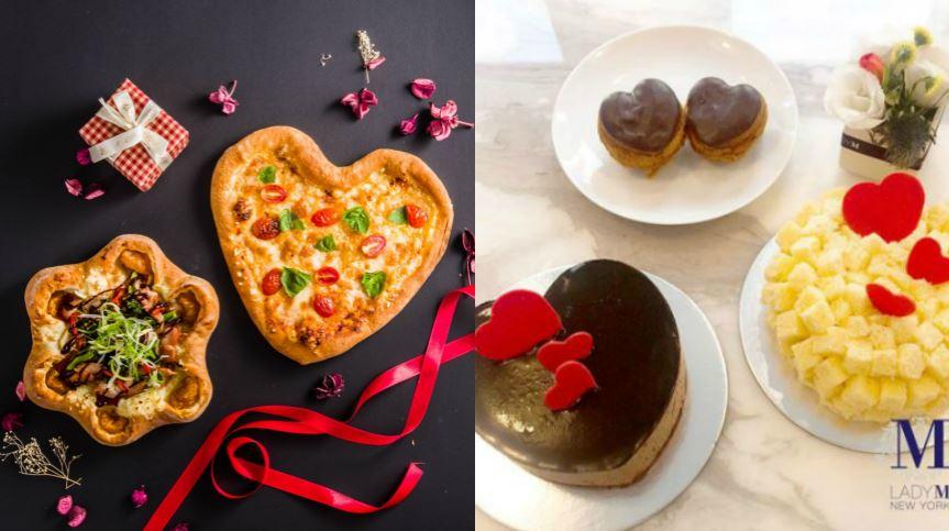 圖/瓦薩美式比薩、LADY M提供 七夕情人節才吃得到!「心型」限定美食超浪漫