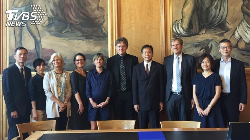 圖/中央社 瑞士蘇黎士大學將開設台灣研究講座