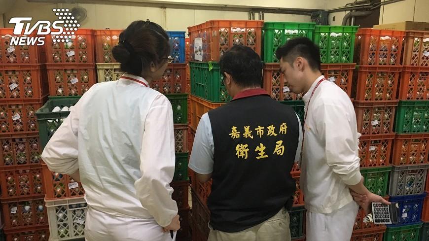 圖/中央社 嘉義7蛋雞場雞蛋檢出芬普尼 移動管制