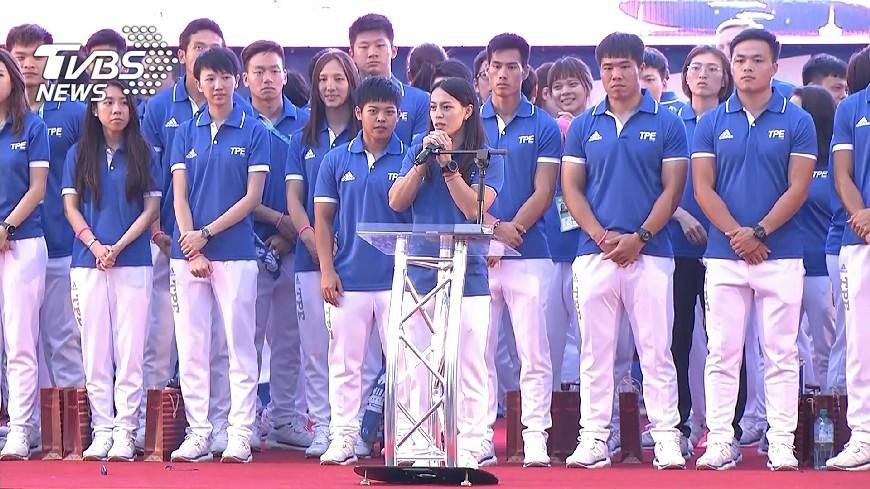 圖/TVBS 世大運英雄助陣 公益路跑募200萬助兒少
