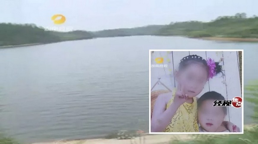 圖/翻攝自《湖南經視》 女童捨身救溺水同伴 對弟喊「不要救我」成遺言