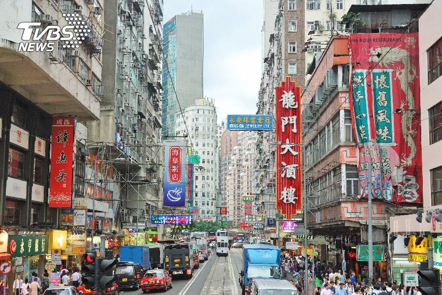 示意圖/TVBS 璀璨霓虹妝點香港 記錄時代繁華光景