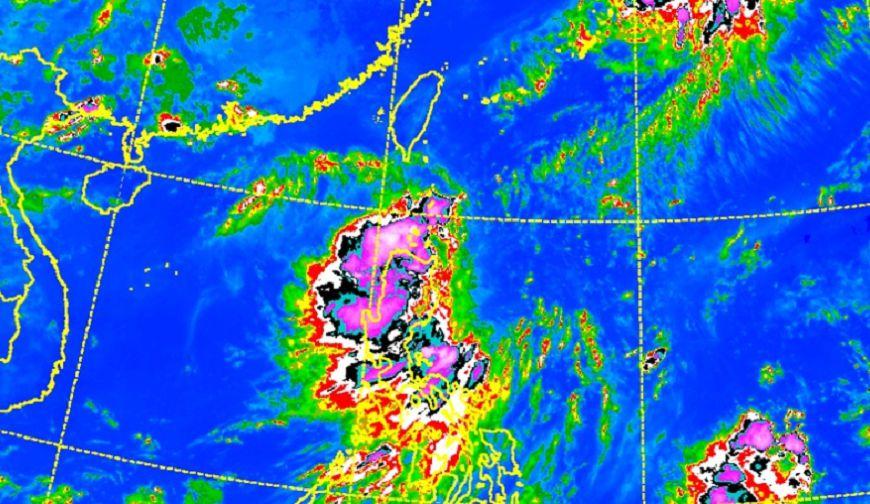 圖/中央氣象局 準颱「谷超」最快下午生成!影響台灣未來一週天氣