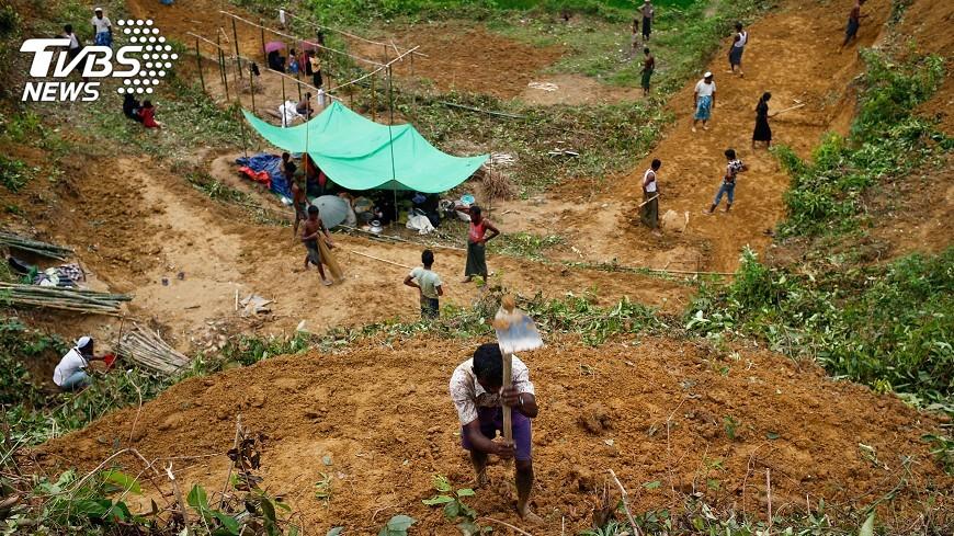 圖/達志影像路透社 洛興雅危機 國際批翁山蘇姬與緬甸冷眼