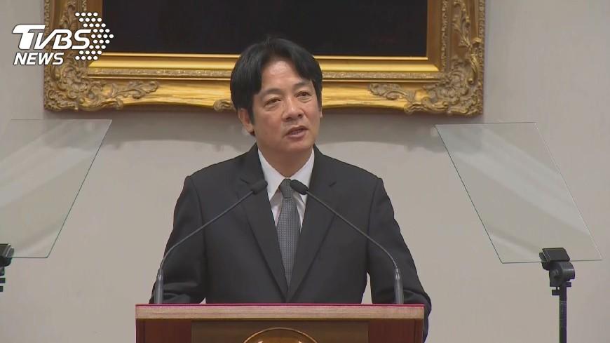 圖/TVBS 賴清德的一封信 告別台南:再見我親愛的夥伴