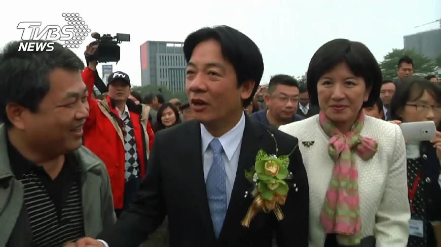圖/TVBS 賴清德接閣揆 興達電廠:賴妻請假