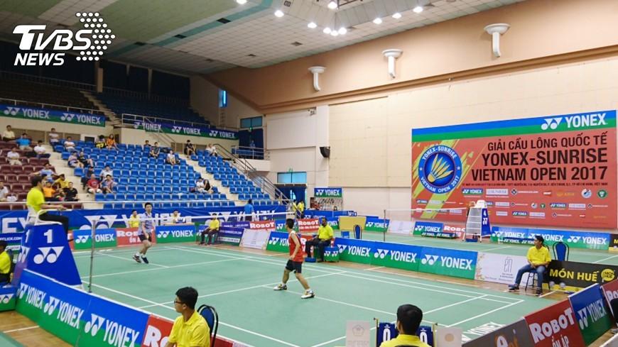 圖/中央社 越南羽球公開賽 台灣代表隊爭取佳績