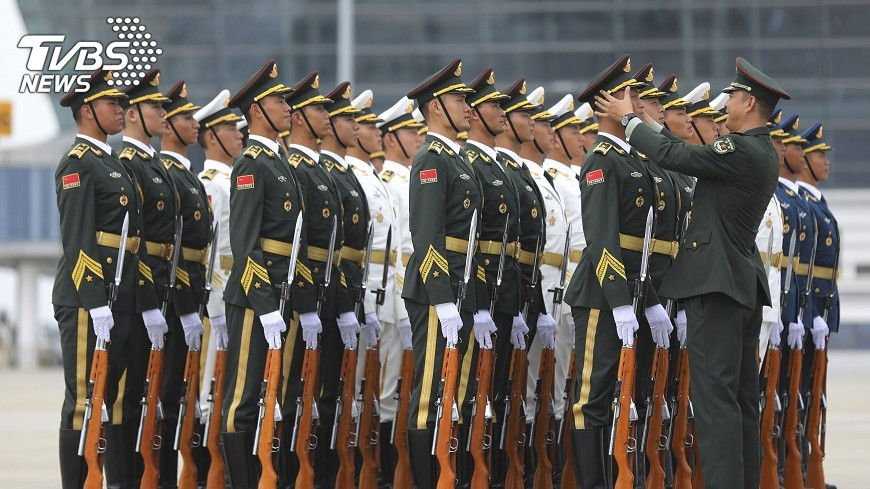 圖/達志影像美聯社 渤海演習意圖 共軍:例行演練不針對誰