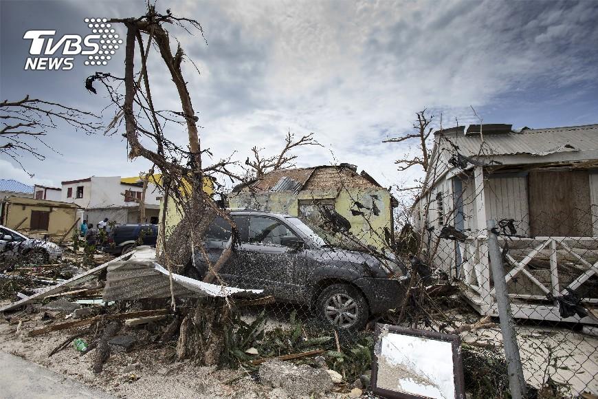圖/達志影像美聯社 怪獸颶風艾瑪 橫掃加勒比海十死災情慘