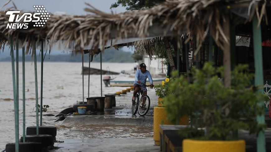 圖/達志影像美聯社 墨西哥強震 日本調查海嘯是否影響日本