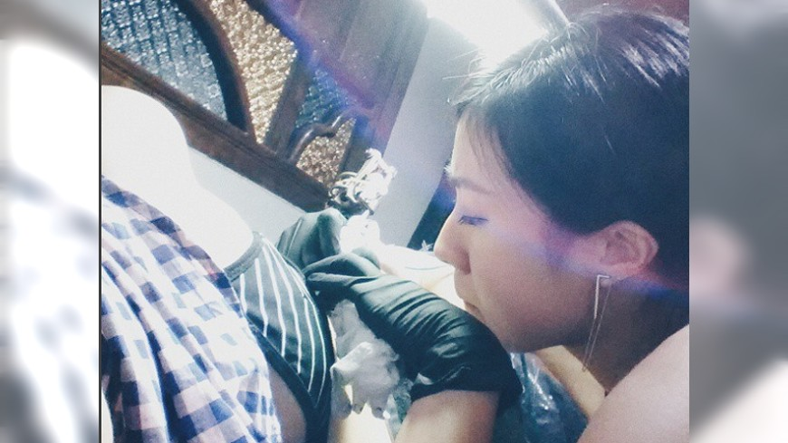 圖/取自Magaga Instagram 影/刺哪裡最痛? 刺青師破解「紋身迷思」