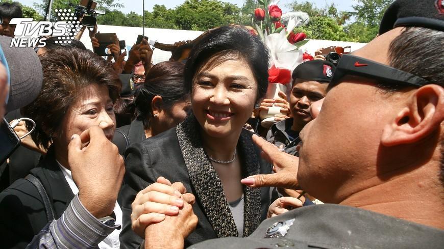 圖/達志影像路透社 泰政府:盈拉逃亡車隊最後現身泰柬邊界