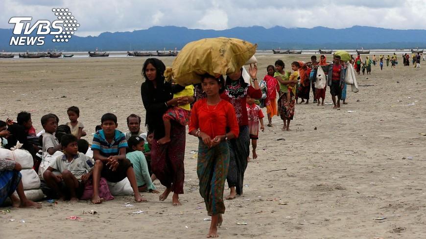 圖/達志影像路透社 洛興雅危機 牽動印尼穆斯林情緒和政局