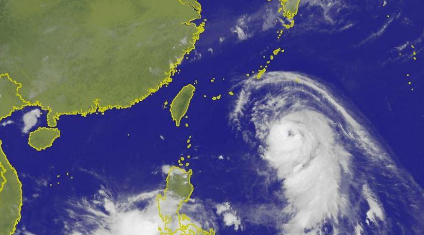 圖/中央氣象局 泰利颱風「大轉彎」北修 氣象專家分析是這2因素