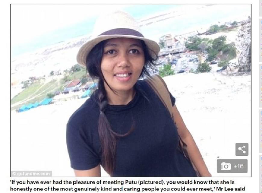 印尼一名人妻被丈夫懷疑有外遇被砍斷雙腿,她竟希望丈夫別被關太久。(圖/翻攝自每日郵報) 在2子面前被夫砍斷雙腿 妻竟說:希望他別被關太久