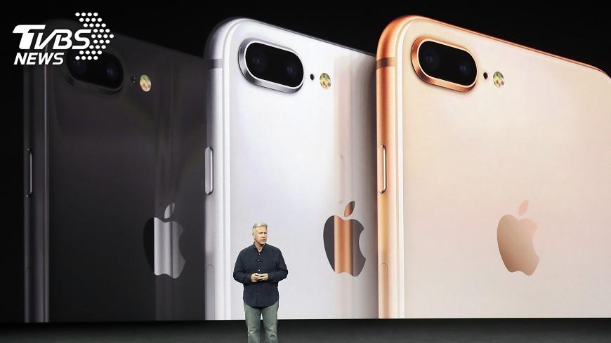 圖/達志影像美聯社 iPhone 8預約 7成果粉都選「它」