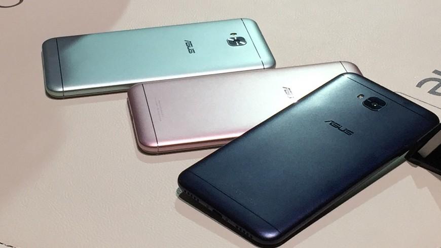 圖/中央社 尬iPhone8 華碩ZenFone4系列新機開賣