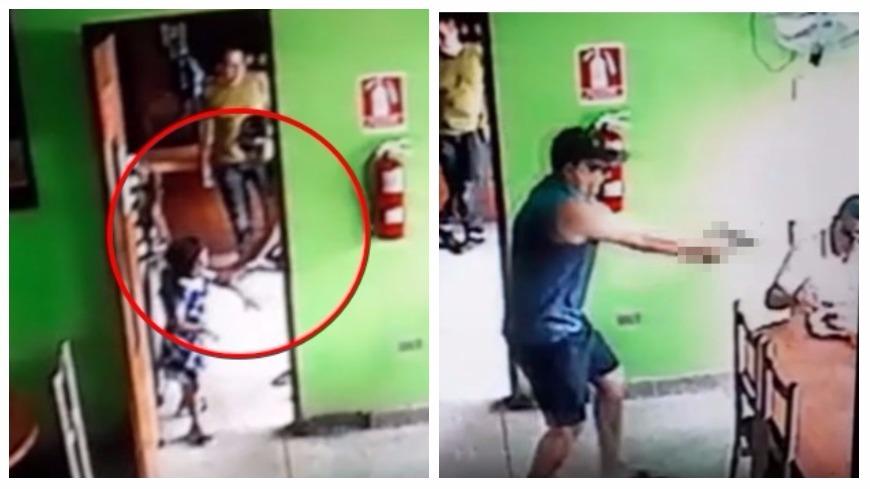 圖/擷取自Noticia al Día YouTube,下同 怕她有陰影…殺人前拉走女童 兇手開4槍轟爆目標