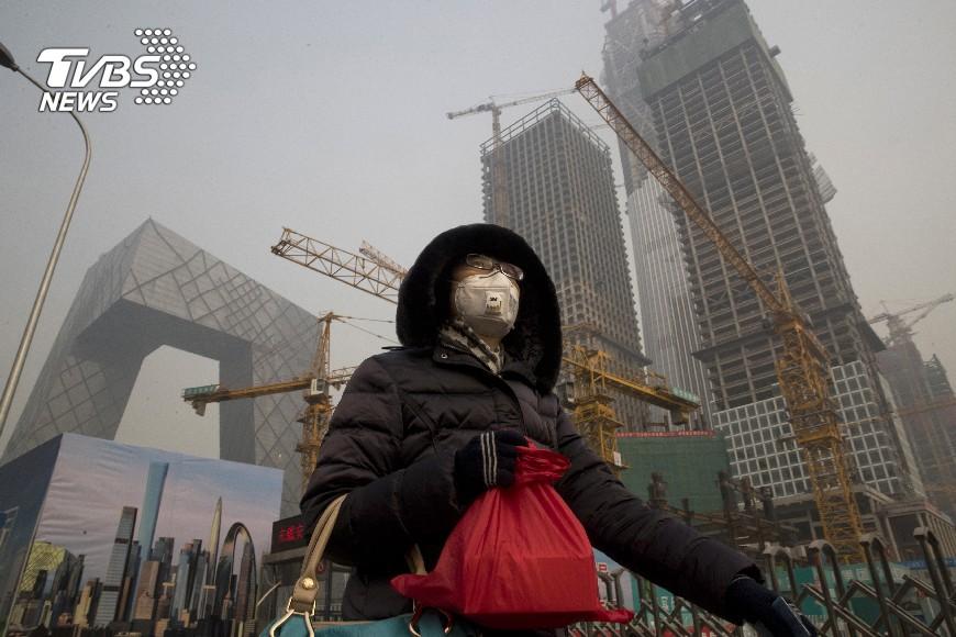 圖/達志影像美聯社 北京發布最嚴停工令 要打藍天保衛戰