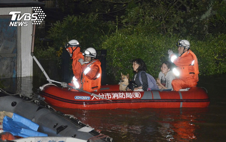 圖/達志影像路透社 泰利將登陸北海道 多達230航班受影響