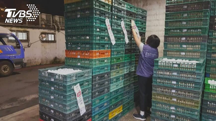 圖/TVBS 雞蛋又驗出芬普尼 台南銷毀逾2萬顆