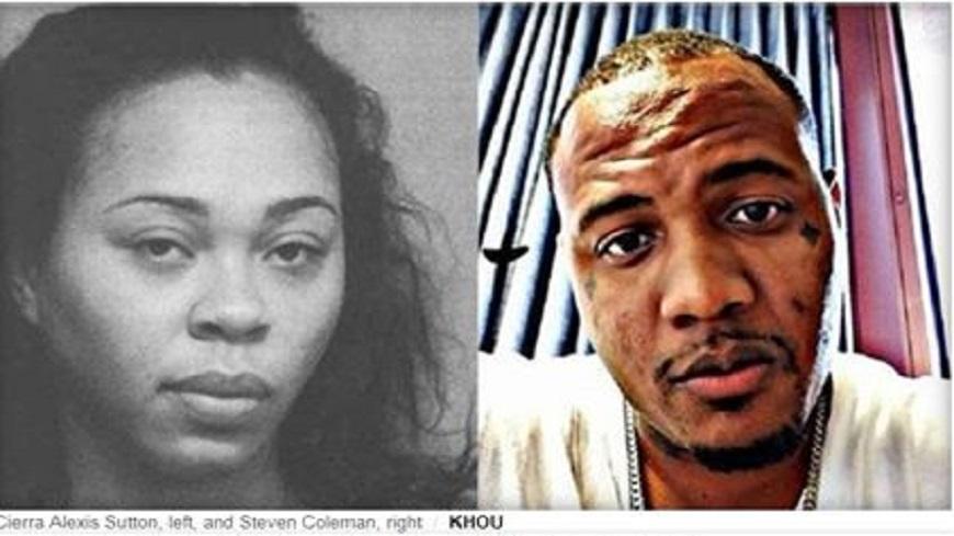 蘇頓已被警方逮捕。翻攝/CBS News 狠!女開槍擊斃熟睡男友 再分屍丟垃圾箱