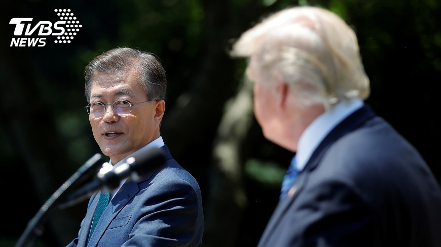 圖/達志影像路透社 青瓦台否認韓美就引進核潛艦達共識