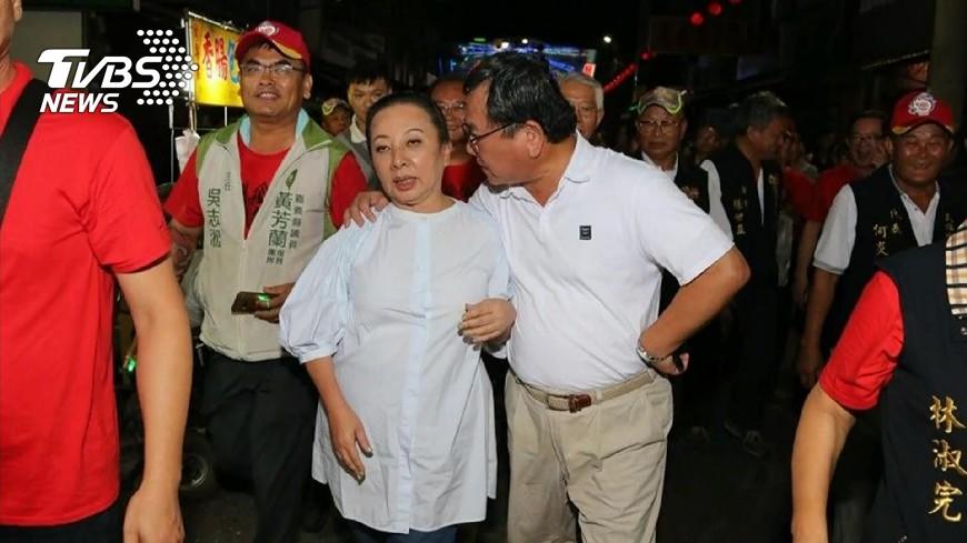 圖/TVBS 陳明文「摟肩非性騷」獲不起訴 張花冠怒聲請再議