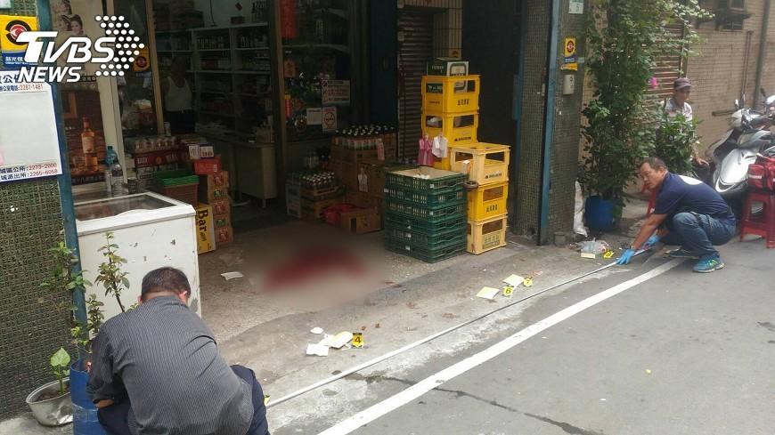 圖/中央社 土城傳槍響 前立委侄子恢復呼吸心跳
