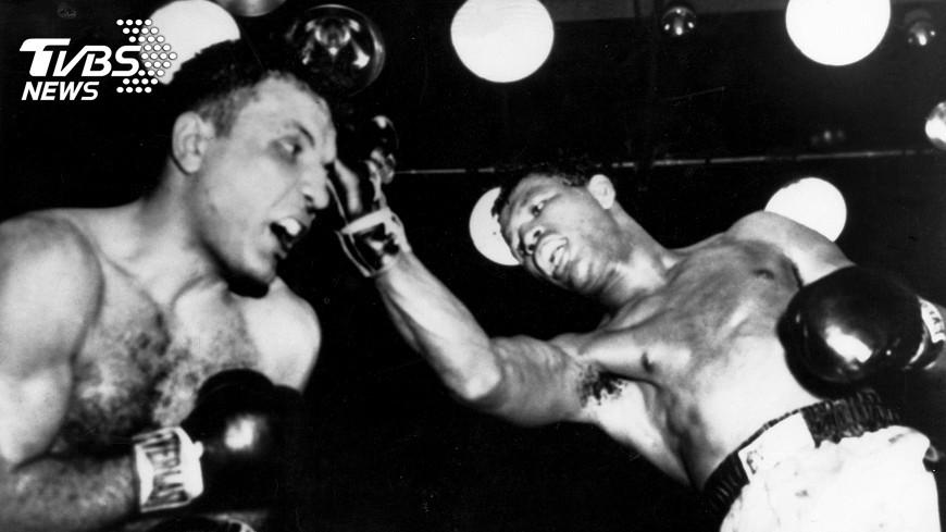 圖/達志影像TPG 前世界拳王蠻牛拉莫塔辭世 享壽95歲