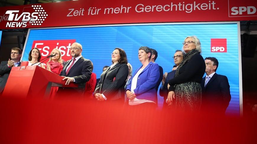 圖/達志影像路透社 歐洲左派褪色 德社民黨慘敗面臨再造