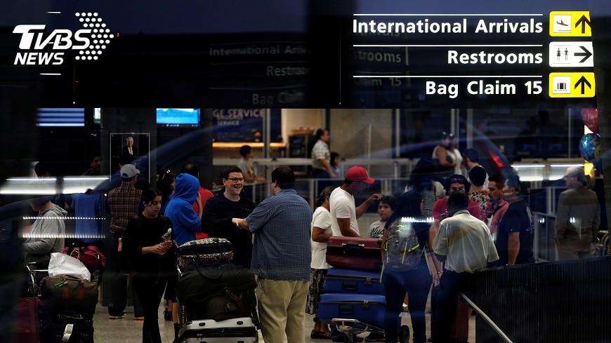圖/達志影像路透社 新旅禁惹議 川普:讓美安全是第一要務