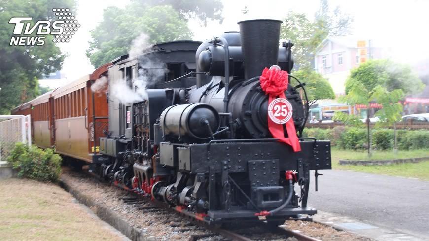 圖/中央社 阿里山森林鐵路 與英國W&LLR鐵路締盟
