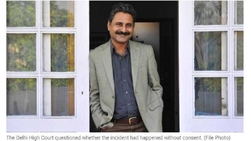 印度寶萊塢一名導演被指控性侵女大生,法官認為女方「微弱的拒絕可能代表接受」,判決他無罪。(圖/翻攝自印度快報) 微弱的拒絕可能是同意!印度導演性侵女大生 法官判無罪