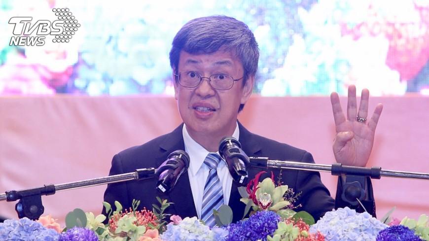 圖/中央社 副總統:人道主義價值觀是台梵關係基礎