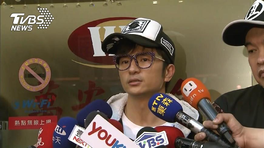 圖/TVBS 遭乃哥飆罵後 唐從聖PO「真希望我是素人」