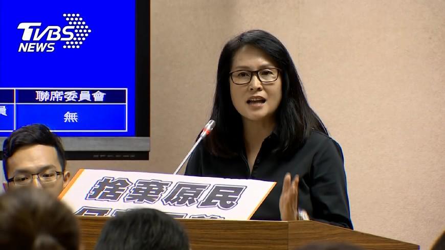 圖/TVBS 遭指施壓台大 高金素梅:沒必要再說明