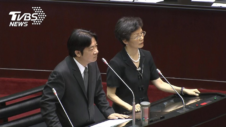 圖/TVBS 不滿賴清德「台獨說」 新黨提告「內亂罪」