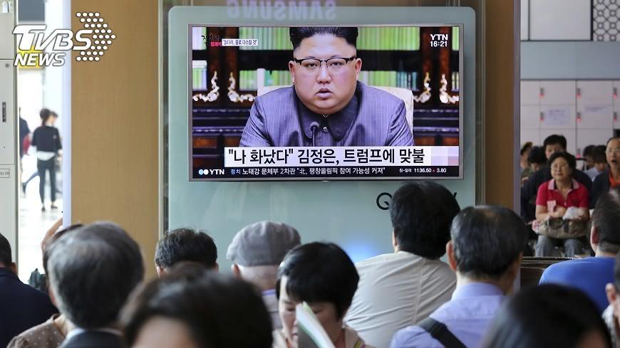 圖/達志影像美聯社 北韓控美阻經濟發展 目的摧毀現代文明