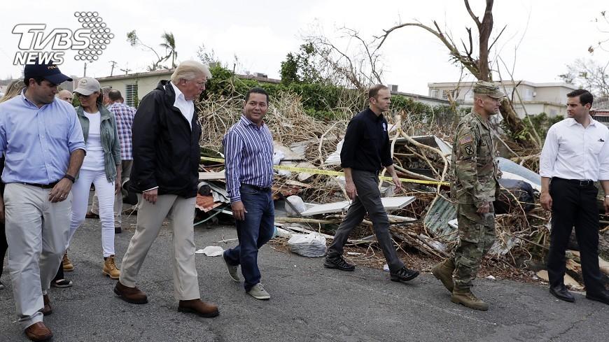 圖/達志影像美聯社 川普要求國會撥款290億 賑災波多黎各