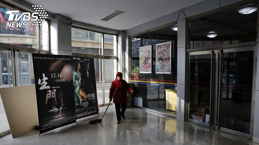 圖/達志影像美聯社 陸電影院瞞報票房 美片商損失12億元