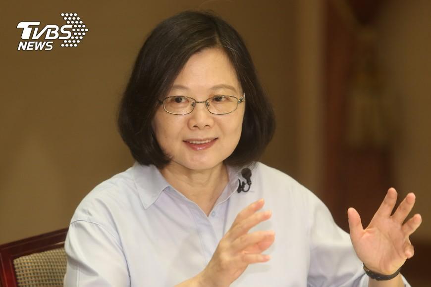 圖/TVBS 國慶談話曝光 蔡總統籲兩岸珍惜30年成果