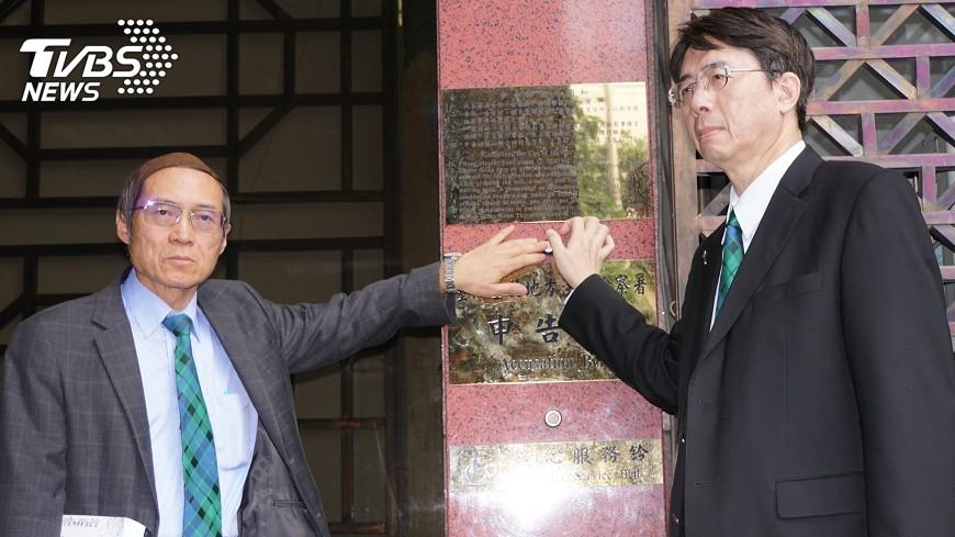 圖/中央社 遭指設公司自肥 劉伯恩赴北檢提告誹謗