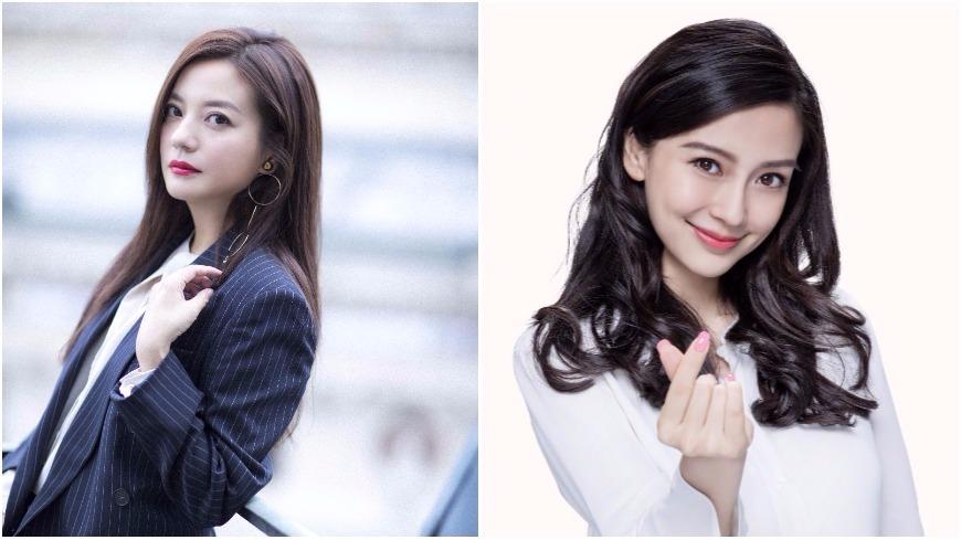 圖/趙薇、Angelababy微博 翻趙薇21年前舊照拗「撞臉baby」 粉絲:瞎了嗎?